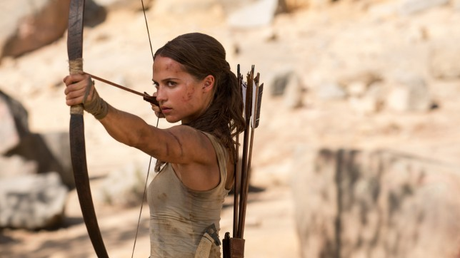 Lara Croft begins
