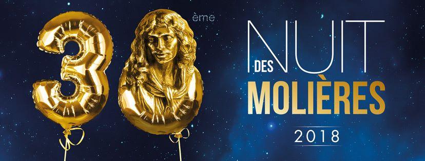 Molière 2018 : Lesnominations