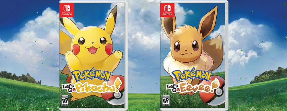 Révolution Pokemon : « Let's Go Pickachu / Let's Go Evoli »